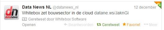 WB startup datanews tweet