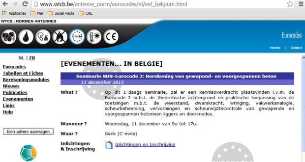 WTCB EC2 studiedag 11 dec Genk